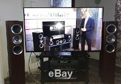 KEF R500 FLOORSTANDING SPEAKERS ROSEWOOD. High Quality Audiophile-Sounding