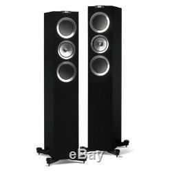 KEF R500 Floorstanding Speakers Black