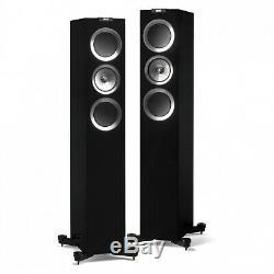 KEF R500 Floorstanding Speakers in Black