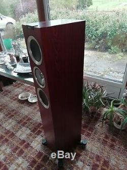 KEF R500 floorstanding speakers Rosewood pair