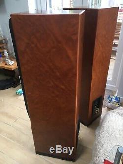 KEF Reference Model 4 2 Audiophile Floorstanding Speakers Superb Rosetta Burr