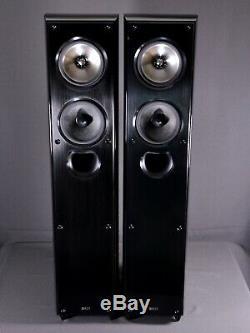 KEF XQ30 PIANO BLACK FloorStanding SPEAKERS Uni-Q £1495 When NEW
