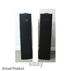 KEF iQ7 Speakers Floorstanding Audiophile Loudspeakers Walnut