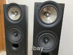 KEF iQ9 3-Way Bass Reflex 2 Floor Standing SP-3503 Speakers Black (1 Pair) Uni-Q