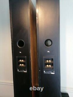 Kef Concerto Two 2 Speakers Floorstanding 3 Way Audiophile made in the uk