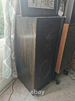 Kef Floorstanding 3 Way Speakers. 150w. Wilmslow Audio Kit. Vintage. Audiophile