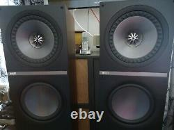 Kef Q900 Floor Standing Speakers Mint With Factory Shipping Boxes Mint Condit