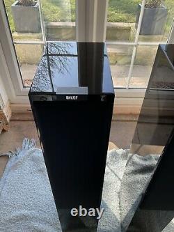Kef R500 Floorstanding Speakers Gloss Black
