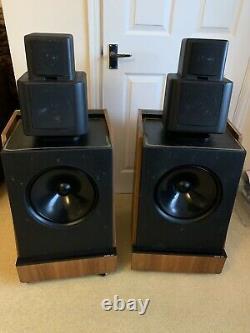 Kef Reference 105.1 SP1059 Rare Floorstanding Hifi Speakers 1977