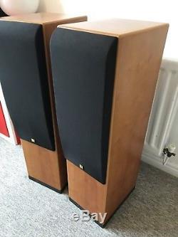 Kef Reference One Two Floorstanding Hifi Speakers Top End Audio Monitors UK