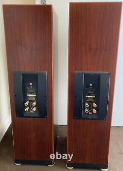 Kef Reference Series Model One-Two Floor Standing Passive Speakers Brown Finish