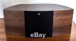 Kef iQ5SE floorstanding speakers with iQ2C centre speaker Walnut finish