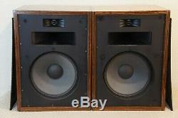 Klipsch Heresy Type Hbr Floorstanding Speakers