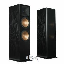 Klipsch RF7 III Floor Standing Speakers Pair Hifi Home Cinema Audio Sound Black