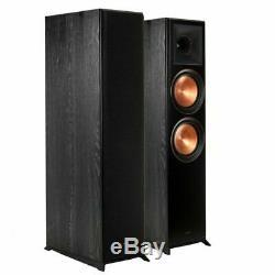 Klipsch RP-8000F Floor Standing Speaker Pair Tower Loudspeakers Hifi Audio Ebony