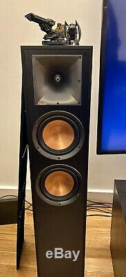 Klipsch R-620F Floorstanding Speakers Black Ebony