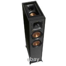 Klipsch R-625FA Dolby Atmos Floorstanding Speakers Pair (Black)