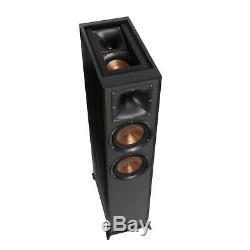 Klipsch R-625FA Floor Standing Speakers B Stock Black (One Pair)