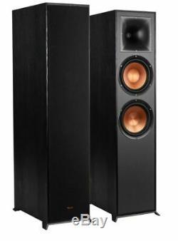 Klipsch R-820F Floor Standing Speakers Pair Tower Loudspeakers Hifi Home Audio