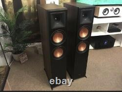 Klipsch Rp 6000f Floorstanding Speakers Walnut COLLECTION ONLY