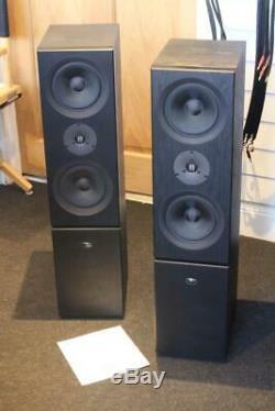 LINN KEOSA Floor standing Audiophile SPEAKERS In full Order with Manual
