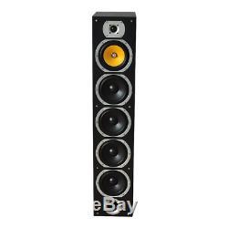 LTC V7B-MA 440W Column Floor Standing Speaker HiFi Home Cinema Black