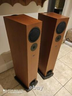 Linn Espek Floor Standing Speakers with Linn Kustone Bases (NOT AV5140)