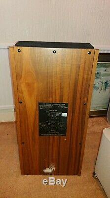 Linn Isobarik domestic floor speakers and stands DMS matched pair