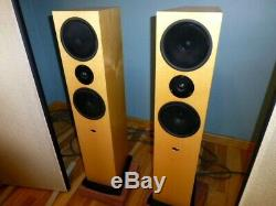 Linn Ninka Floor Standing Loudspeakers/ Stereo Speakers Currently Bi-Wired