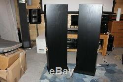 Linn Ninka Floorstanding Speakers In Black Ash