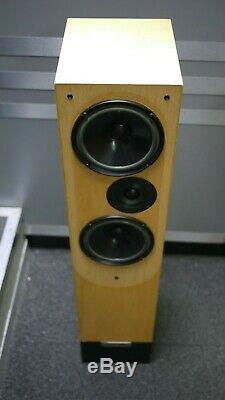 Living Voice Auditorium Floorstanding Speakers in Maple Preowned