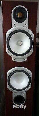 MONITOR AUDIO RS6 Silver FLOORSTANDING SPEAKERS Walnut ONE OWNER Floor Standing