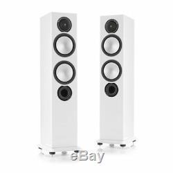 MONITOR AUDIO Silver 6 Floorstanding Speakers PAIR White Gloss NEW, Ex-display
