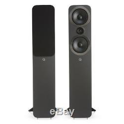 Manufacturer Refurbished Q Acoustics Q 3050i Floorstanding Speakers Carbon B