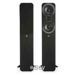 Manufacturer Refurbished-Q Acoustics Q 3050i Floorstanding Speakers Carbon Black