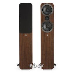 Manufacturer Refurbished Q Acoustics Q 3050i Floorstanding Speakers Walnut