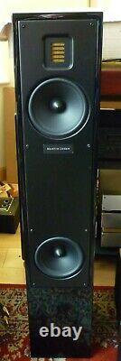 Martin Logan Motion 20 Floor Standing Speakers Piano Black excellent condition