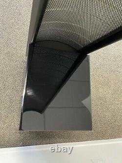 Martin Logan Theos Floor-Standing Speaker XStat Gloss Piano Black, Each, THEGBLD