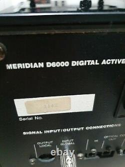 Meridian D6000 Boothroyd Stuart Digital Floor standing stereo speakers