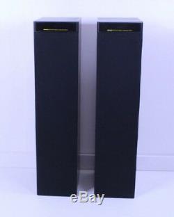 Meridian DSP5000 Floor Standing Powered Speakers (Black) DSP 5000