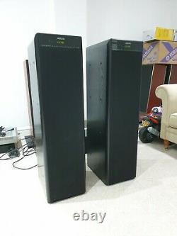 Meridian DSP 5500 Boothroyd Stuart Digital Floor standing stereo speakers