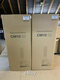 Mint Boxed Bowers & Wilkins B&W CM10 S2 Gloss Black Floorstanding Speakers £2999