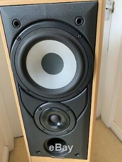 Mission 702e Stunning Floorstanding Hifi Speakers Audio Monitors