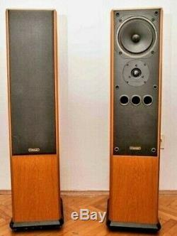 Mission 752 Audiophile Standard floor standing tower speakers exceptional condit