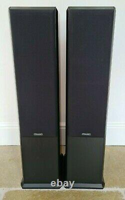 Mission 752 Floorstanding Black Ash Speakers N. O. S New And Unused In Boxes