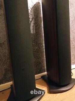 Mission e34 stereo home cinema hifi tower floorstanding speakers