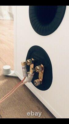 Monitor Audio Bronze 500 Floorstanding Speakers White