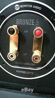 Monitor Audio Bronze 5. Floor standing audiophile speakers. Excellent. OL14