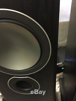 Monitor Audio Bronze 5 Floorstanding Speaker Pair Black Oak DNG-494