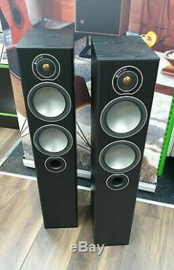Monitor Audio Bronze 5 Floorstanding Speakers Black Oak - EX DEMONSTRATION
